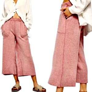 Free People NWT Yes They Are That Soft Pants OS